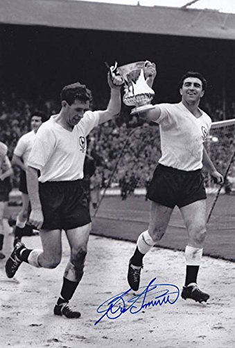 SALE-20-OFF-RRP-GUARANTEED-AUTHENTIC-TOT-009-HAND-SIGNED-12×8-PHOTO-TOTTENHAM-1961-BOBBY-SMITH