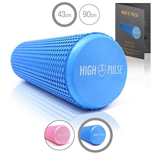 High Pulse Pilates - La Espuma multifuncional rodillo para masaje, fitness Fortalecimiento Muscular y la quimioterapia, 43 x 15 cm