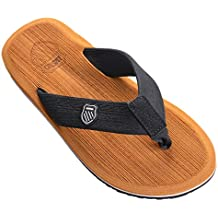Vertvie Herren Sommer Schuhe Strand Sandalen Indoor Outdoor Slipper Zehentrenner Pantoletten Flip Flop