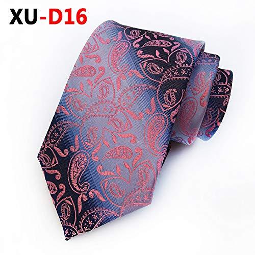 LLTYTE Mode Neue Seide 8 cm grau gestreifte Blaue Paisley-Krawattefür Hochzeit Hochzeits-Accessoires - Gestreifte Neue Seide Krawatte