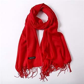 ... HITSAN INCORPORATION women scarf fashion summer thin solid shawls and wraps  lady ed9de4b6840