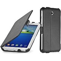 StilGut UltraSlim Case, funda con funcion de soporte para el original Samsung Galaxy Tab 3 Lite 7.0, negro