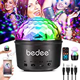 bedee Disco Lights, 9 LED Colors Sound Activated Disco Ball Lights, 7 Modes