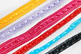 Neotrims Deko 8mm Crochet, flach Tape Style Viskose Textur Band indischen Sari Salwar Borte Bordüre Besatz. Wählen Sie aus 6atemberaubenden Farben: rot, türkis, Kirschrot, gelb gold, schwarz, Lavendel, Great Value Frauengewand Rand, Polyester, Turquoise (8mm), 2 m