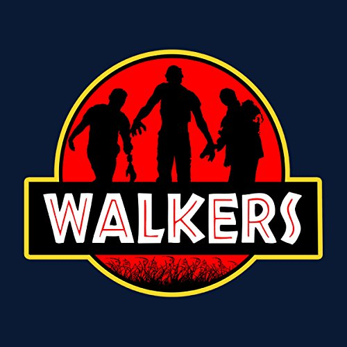 Jurassic Walkers Walking Dead Park Women's Sweatshirt Navy blue