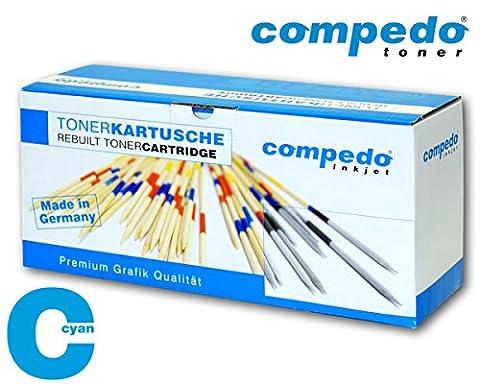 Compedo Premium Toner cyan/blau (1.000 Seiten) ersetzt Xerox Nr. 106R02756 für Xerox Phaser 6020, 6020BI, 6022, 6027,Xerox WorkCentre 6025, 6027 u.