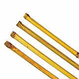 Varas de bambú 150–180cm Ton Kin varillas Rank ayuda Macetero ayuda varillas