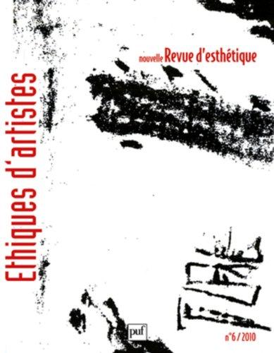 Nouvelle revue d'esthétique 2010 - N° 6
