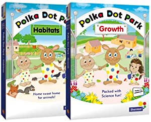 Polka Dot Park - Early Years Science Double CD-ROM Pack from Sherston (home user)