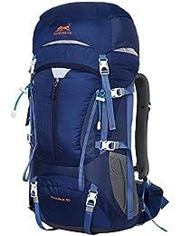 Eshow mochilla 50L Protector de Lluvia Ultraligero Montañismo Senderismo Deportes ocio para viajes.