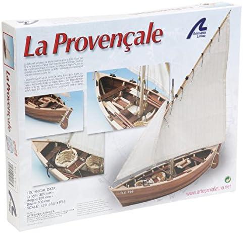 Artesania Artesania Artesania - Maquette en bois - La Provençale : Bateau de pêche des côtes de Provence | Vente  56c907