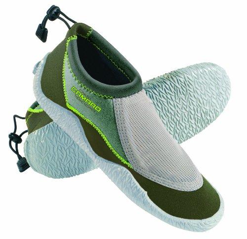 Camaro - Scarpette in neoprene, da bambini, modello Coral Sea Verde - verde