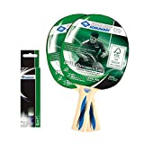 Donic-Schildkröt Juego de Tenis de Mesa ovtcharov 400FSC 2Palo 3Pelotas en Ampolla, 788469