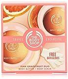 Die besten The Body Shop Lotion für Gesichter - The Body Shop Pink Grapefruit Duo Set unisex Bewertungen
