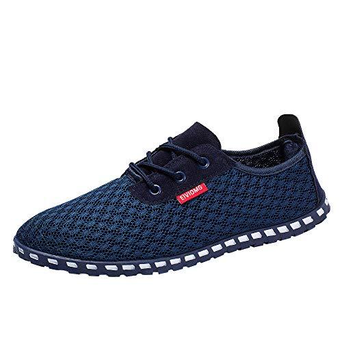 fcee0a69d6 Herren Wandern Schuhe, Quaan Mesh Beiläufig Gemütlich Atmungsaktiv Sport  Schuhe Retro Klassisch Mode Klassisch Einfachheit