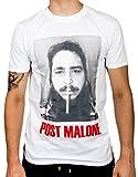 Photo de Ulterior Clothing Post Malone Cigarette T-Shirt 21 Savage White Iverson par Ulterior Clothing