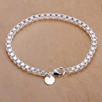 Skyllc® 925 silver plated Alloy personalized bracelet