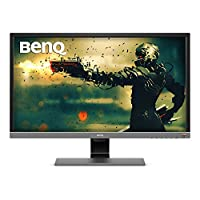 BenQ 28 inch 4K HDR10 Monitor (EL2870U), UHD 3840x2160, FreeSync, 1ms Response Time, Eye-Care, Brightness Intelligence Plus, HDMI, DP, Built-in Speakers