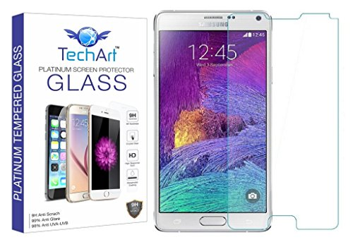 TechArt® 2.5D Ultra Thin UNBREAKABLE FLEXIBLE Tempered Glass Screen Protector for Samsung Galaxy Note 4