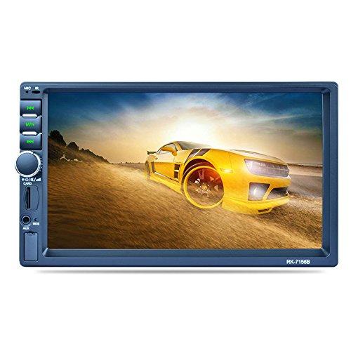 GPS-Navigation, 7-Zoll-Doppel-Din-Blau-Zahn-Auto-Mp5-Player-Unterstützung Square Control/Interconnection / Rückansicht/RDS Rk-7156B Unterstützung Rückansicht Automobil Interconnection Kit