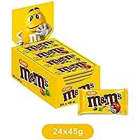 M&M's Arachidi confetti di arachidi ricoperti di cioccolato, 24 bustine x45g (1800g)