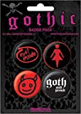 Goth 38mm Badge Pack