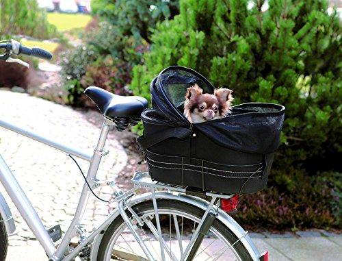 Trixie 13118 Fahrradtasche, 29 × 42 × 48 cm, schwarz -