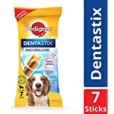 Pedigree Dentastix, Oral Care Dog Treat for Adult Medium Breed (10-25kg) Dogs – 180 g Weekly Pack (7 Sticks)