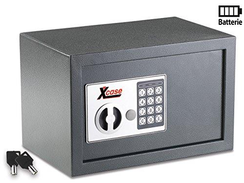 Xcase Tresore: Stahlsafe mit digitalem Schloss, 12 Liter (Mini Safe) (Schloss Mit Mini-tresor)