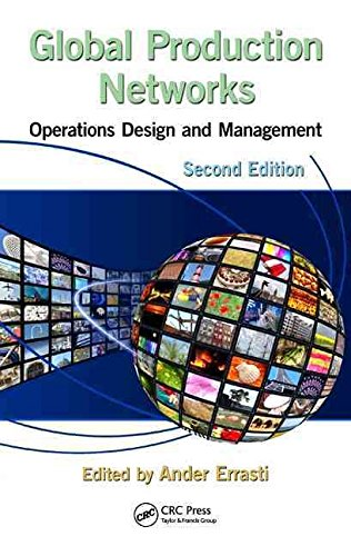 Portada del libro [Global Production Networks: Operations Design and Management] (By: Ander Errasti) [published: January, 2013]