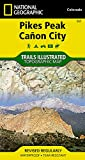 ** Pikes Peak - Canon City (National Geographic Trails Illustrated Map)