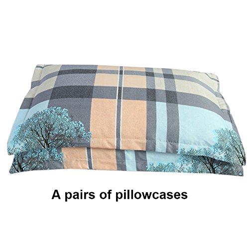 Colinsa Jacquard 2 Pillowshams Luxury Bedding Throw-Over Set-48x74cm-B2