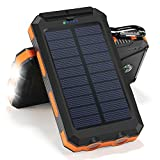 Best Solar Charger Androids - Solar Charger, 10000mAh Solar Power Bank Portable Battery Review