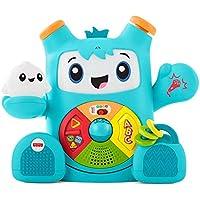 Fisher-Price Rocky Roquero, juguete electrónico bebé +6 meses (Mattel FXD05)