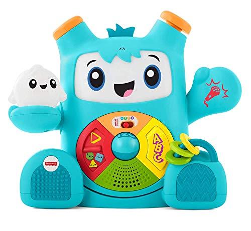 Fisher-Price Rocky Roquero, juguete electrónico bebé +6...