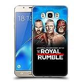 Head Case Designs Offizielle WWE Braun, Brock & Kane 2018 Royal Rumble Ruckseite Hülle für Samsung Galaxy J7 (2016)