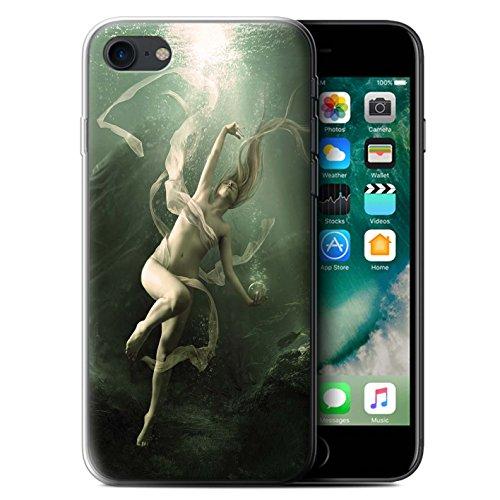 Officiel Elena Dudina Coque / Etui Gel TPU pour Apple iPhone 7 / Sous-Marin Design / Agua de Vida Collection Sous-Marin