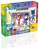 Lisciani Giochi 62966 - PJ Masks Scuola di Disegno con Pennarelli Fluo
