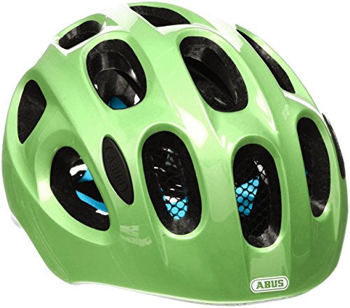 Abus Fahrradhelm Youn-I, sparkling green, 52-57 cm, 12814-1