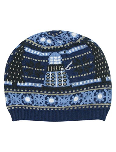 TARDIS und Dalek Weihnachtsmütze - Offizieller Doctor Who Mütze von (Dr Hut Who Fez)