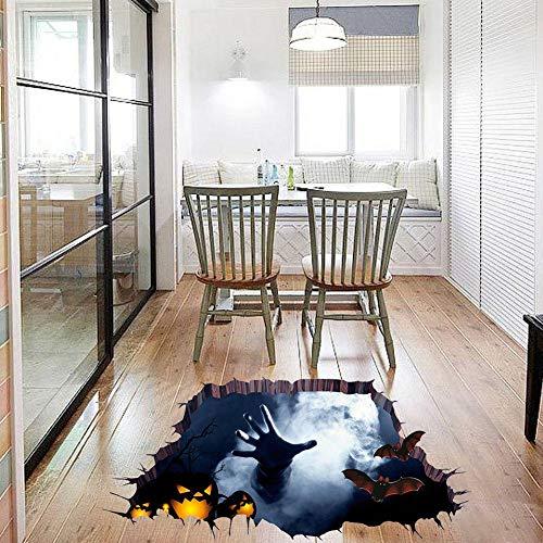 Scary Halloween Wandaufkleber Floor Paster Für Halloween Wall Floor Surface Decoration3D
