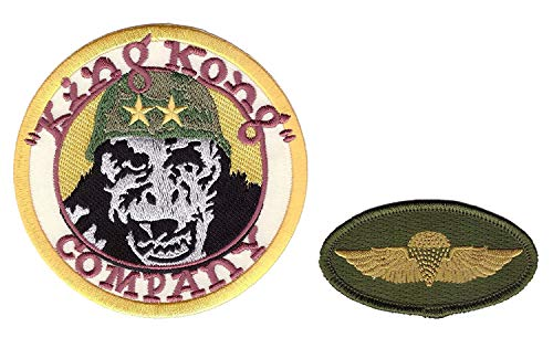 King Wing (Titan One Europe Jump Wings + King Kong Company Taxi Driver We People Costume Patches Iron On Aufnäher Aufbügler)
