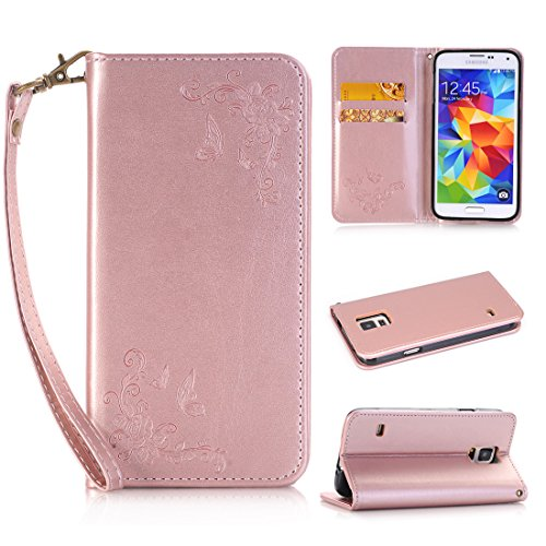 Nancen - Cover per Apple Iphone 5C (4pollici), fiore e
