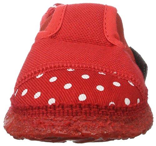 Nanga Punkt, chaussons d'intérieur fille Rot (Rot)