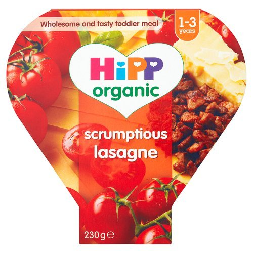 Hipp Organic Scrumptious Lasagne Tray Meal from 12 Months 230 g (Pack of 5)