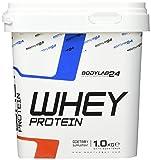 Bodylab24 Whey Protein Eiweißpulver, Geschmack: Pistazie, hochwertiges Proteinpulver, Low Carb Eiweiß-Shake für Muskelaufbau und Fitness, 1000g