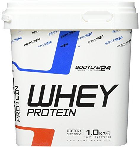 Bodylab24 Whey Protein Pistazie 1000g mit Messlöffel
