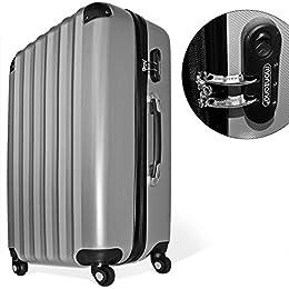 Acheter Lot de 3 valises renforcées set de... en ligne