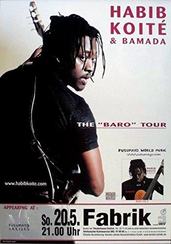 koite-habib-2000-concerto-baro-tour-poster-amburgo