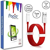 Type C Dash Charging USB Data Cable (Guaranteed Dash Charging Supported for OnePlus Devices) by Popio®